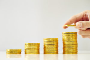golden coins