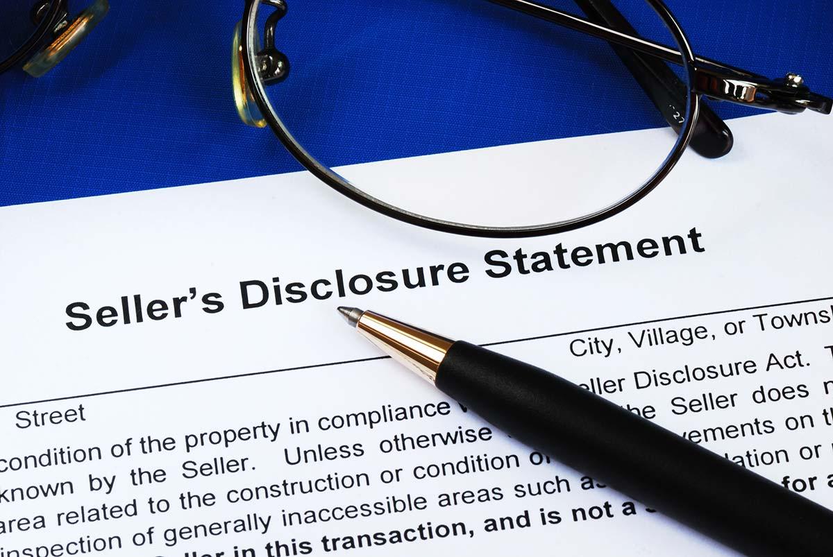 Seller Disclosure