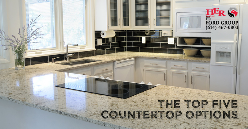 Top 5 countertop options